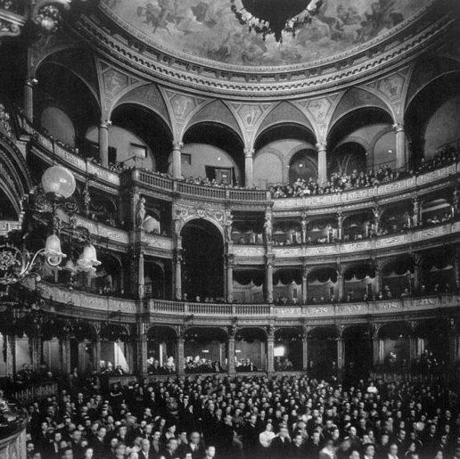 L'Opera di Budapest nel 1947