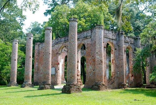Old Sheldon Church, near Yamassee, SC