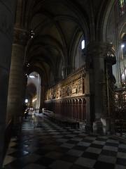 Inside Notre-Dame de Paris