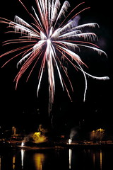 Blaze - fireworks at Lions Field
