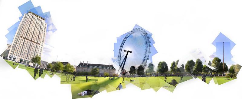 London Eye Panography