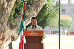 Enrique Peña Nieto, Mexico State Governor, spe...