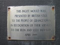 Grangetown Ingot Mould