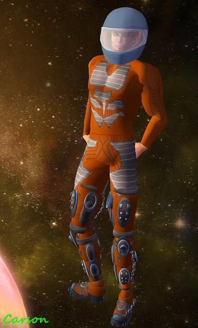 The Pumpkin Head - Space Suit