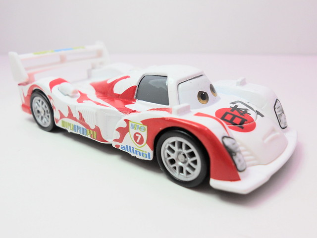 Disney Cars 2 Kmart event 2011 rubber tire Shu Todoroki (2)