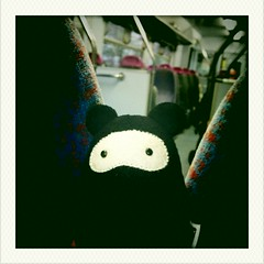 Ninja Cavey In Transit