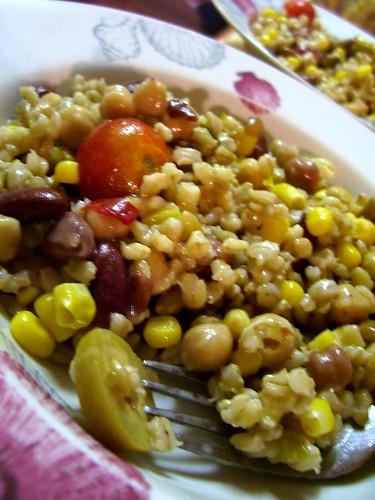 jalapeno lemon barley salad
