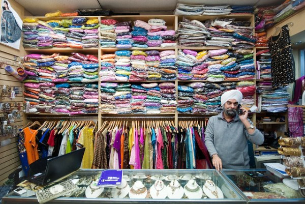 Saris and Jewelry: Jackson Heights
