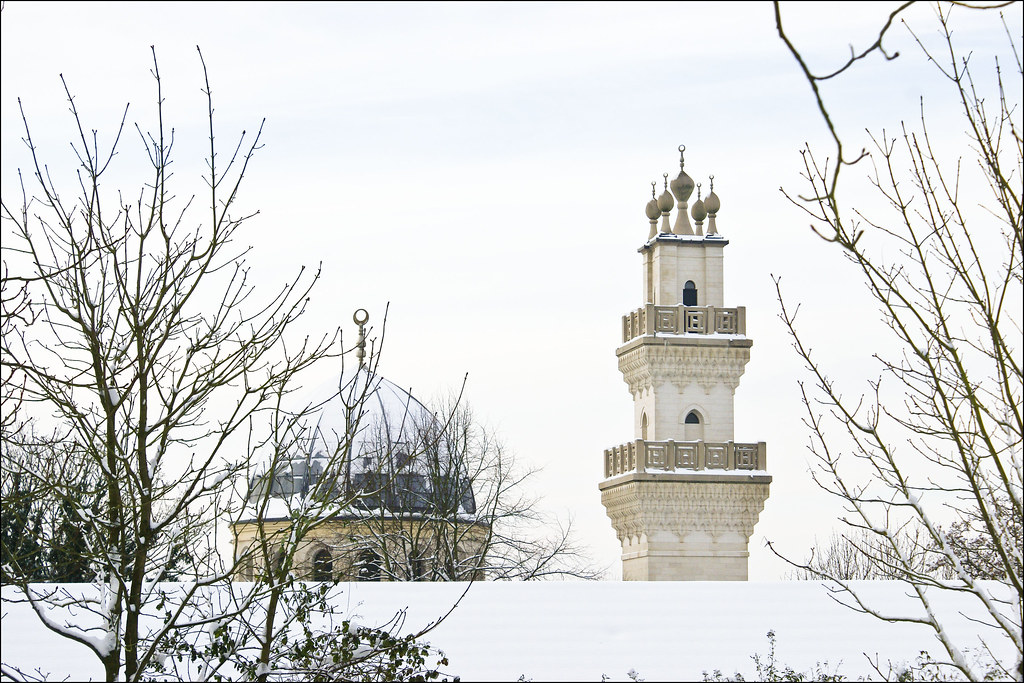 Minarets 2 | Oxford Centre for Islamic Studies | snow
