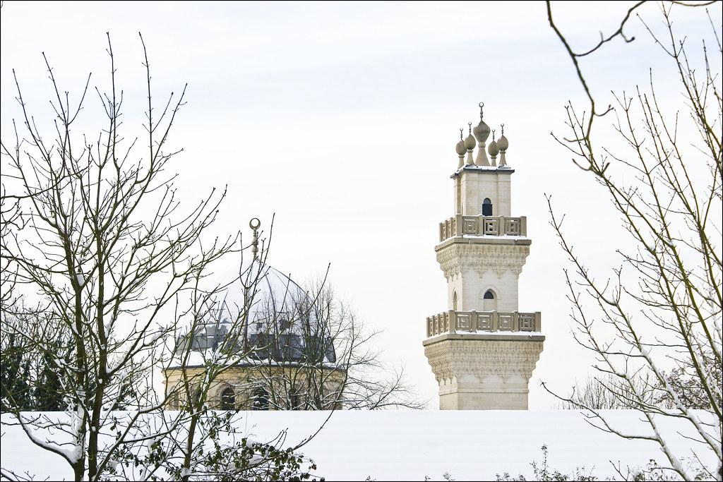 Minarets 2 | Oxford Centre for Islamic Studies | snow