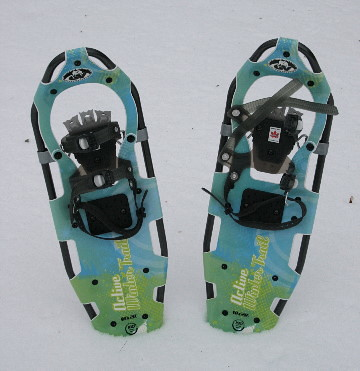 New snowshoes!