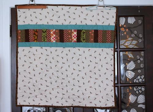 lap dog quilt (back)