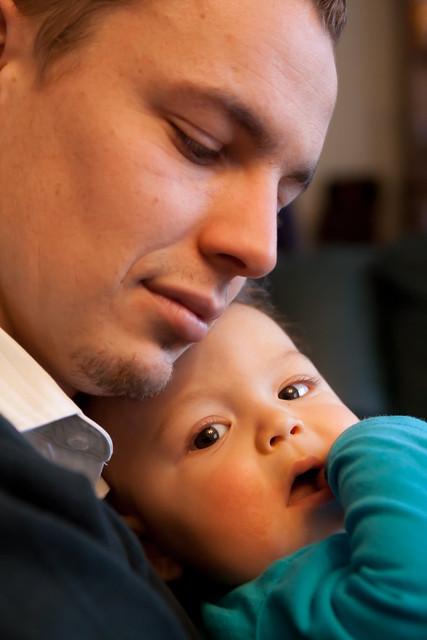Lucas en zijn papa