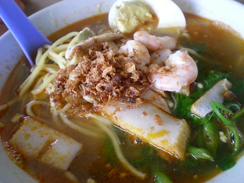 Ipoh prawn noodles