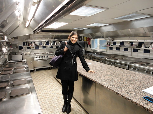 Me in the Student Practice Kitchens!