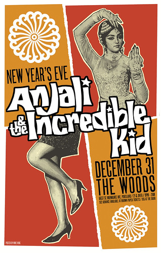 New Year's Eve with Anjali and The Incredible Kid @ The Woods