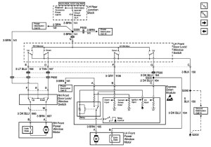 Power window switch wiring diagram
