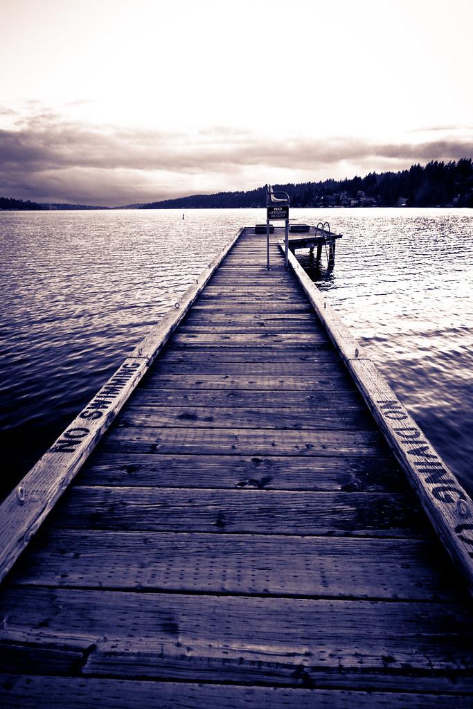 Enatai fishing pier
