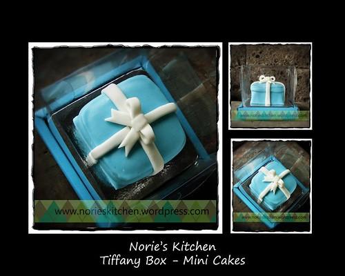 Norie's Kitchen - Tiffany Box - Mini Cake Cake
