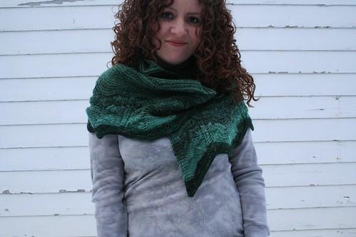 knitted :: handspun Coleus