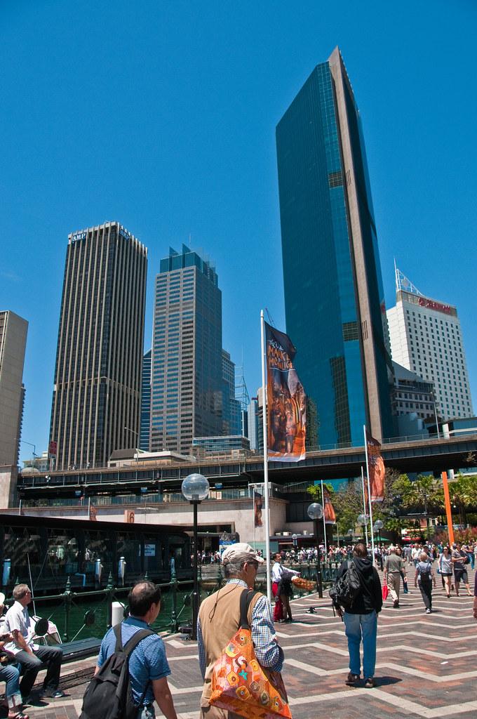 Downtown Sydney from Circular Quay