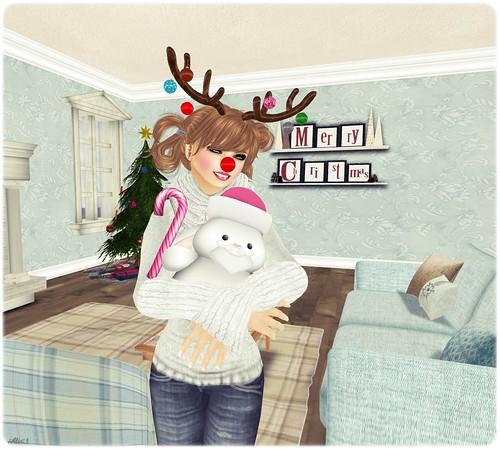 Santa Snugglebunny!