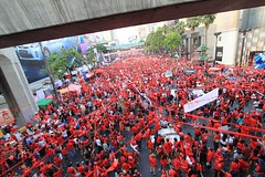 Red Shirt Rally - Bangkok, Thailand
