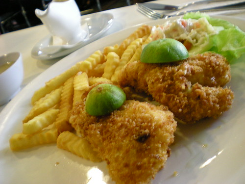 Garden's fish and chips