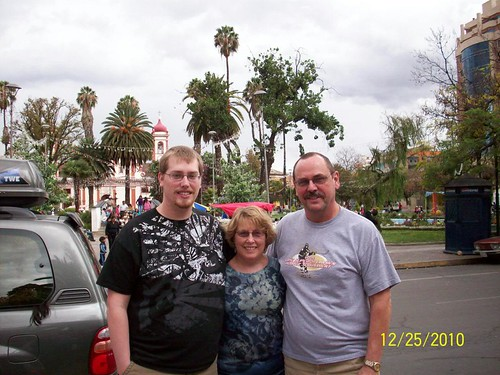 Mom, Dad, and Mitch
