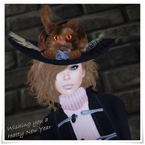 Hatpins - Mischief Hat