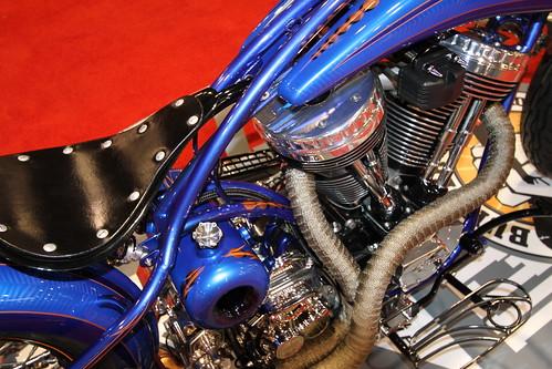 """Gary Maurer """"No Reservation"""" Bike @ 2011 Ultimate Builder in Detroit"""