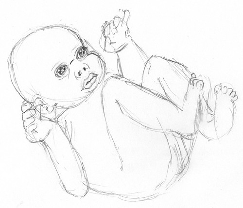 Third baby sketch on 2011-01-12