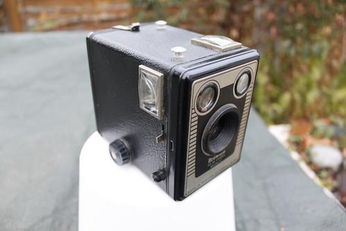 Kodak Brownie Model C - photo by gonzocameras