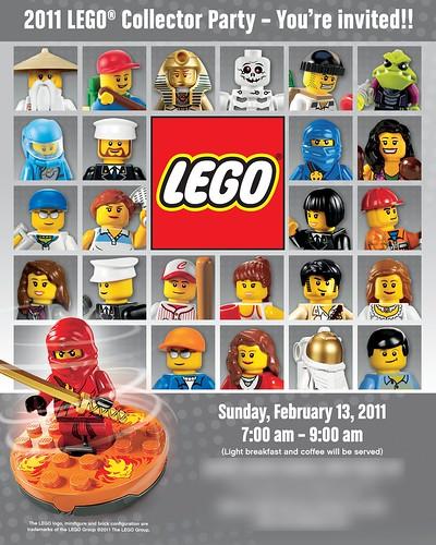 LEGO 2011 Collectors Party