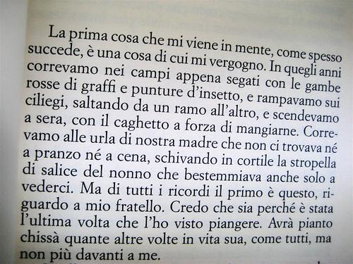 Sandro Campani, Nel paese del Magnano, Italic 2010; grafica di copertina: Giordano Giunta; incipit (part.), 1