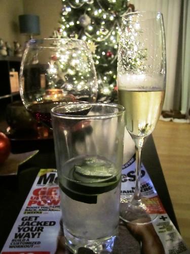 Three Drinks of the Evening