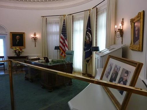Austin LBJ Library Oval Office 2