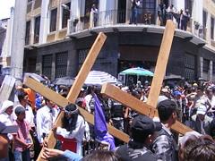 Easter procession, Quito, Ecuador