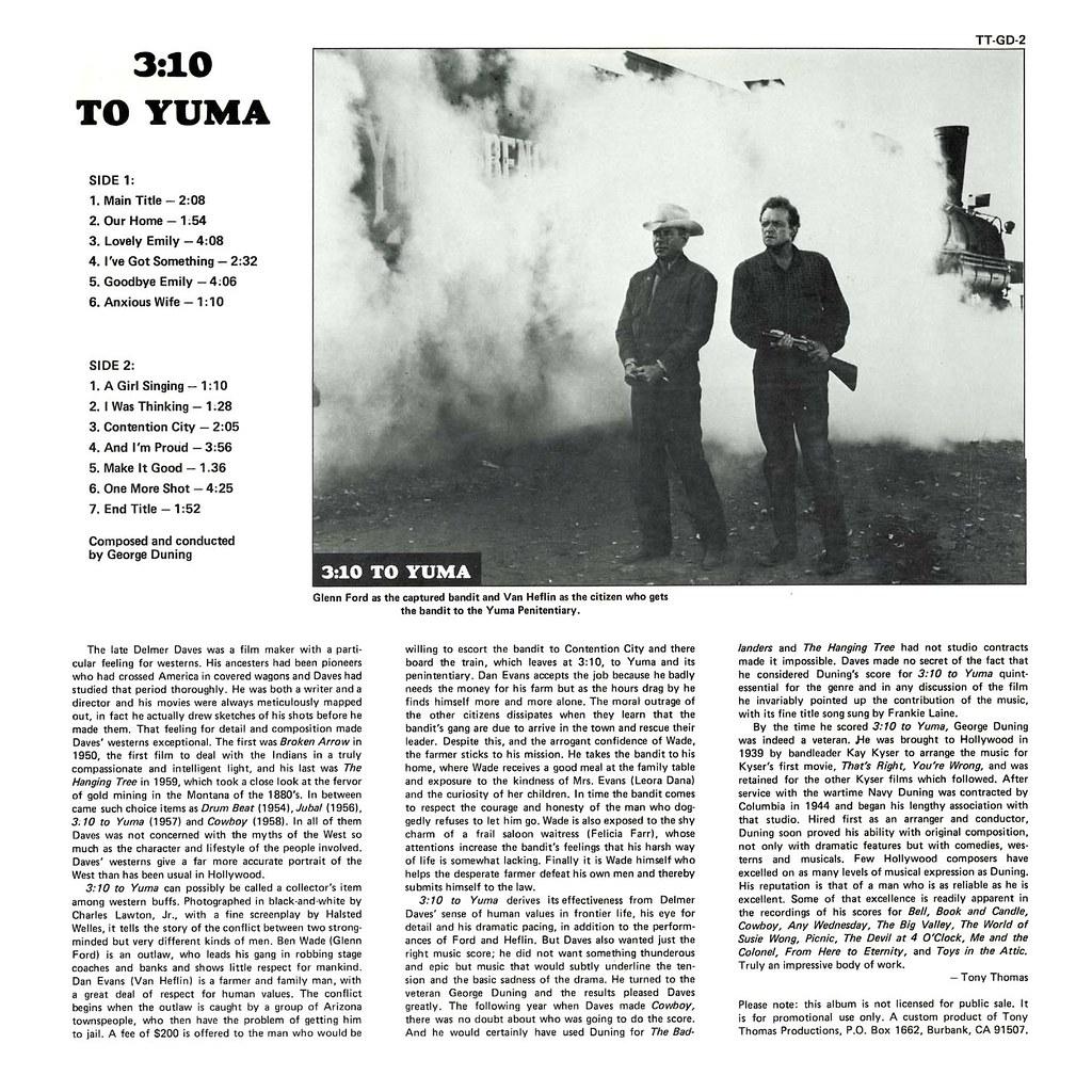 George Duning - 3 10 to Yuma