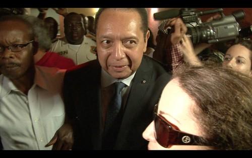 Duvalier at Hotel