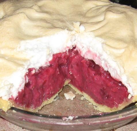 blackberry apple meringue pie