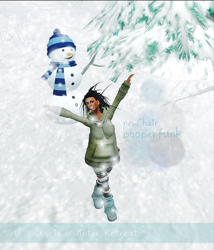 Yay snowman