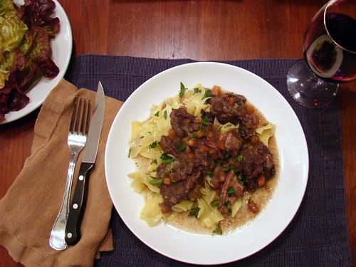 Dinner: November 30, 2010