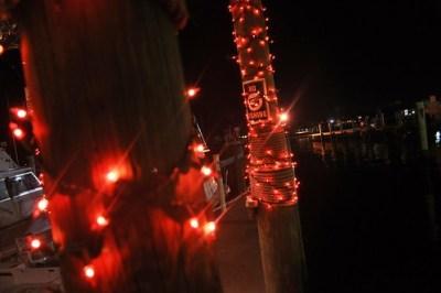Christmas Lights at Fishermen's Village Marina, Punta Gorda, Fla.