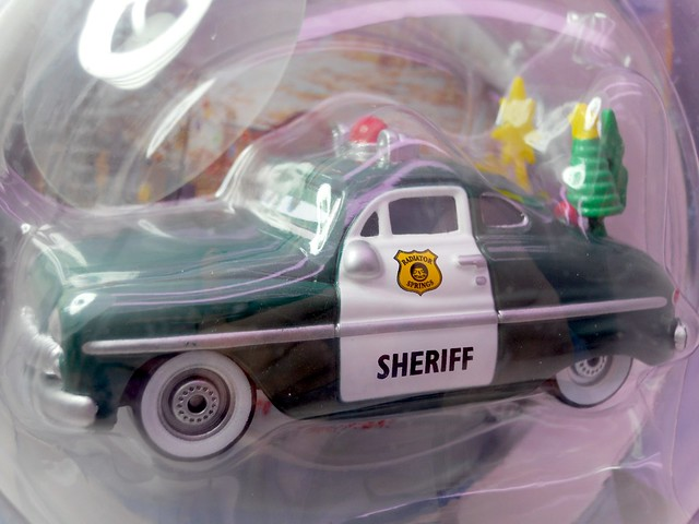 disney cars 2010 christmas Holiday Spirit Sheriff (2)
