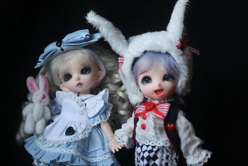 Allie and Bunbun