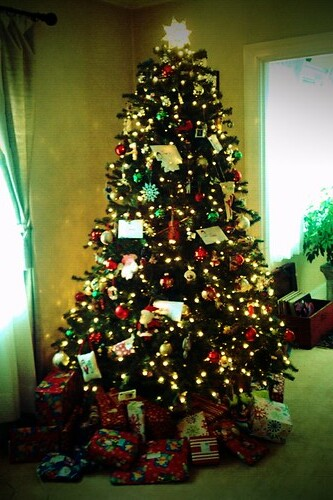 Christmas tree, toy cam style