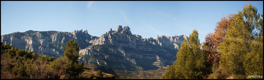 Panorámica de Montserrat