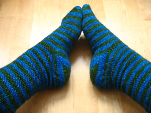 Colorway: Yarn Chef Bouillabaisse in Kelb Beds