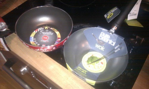 My new mini (8 inch) Woks